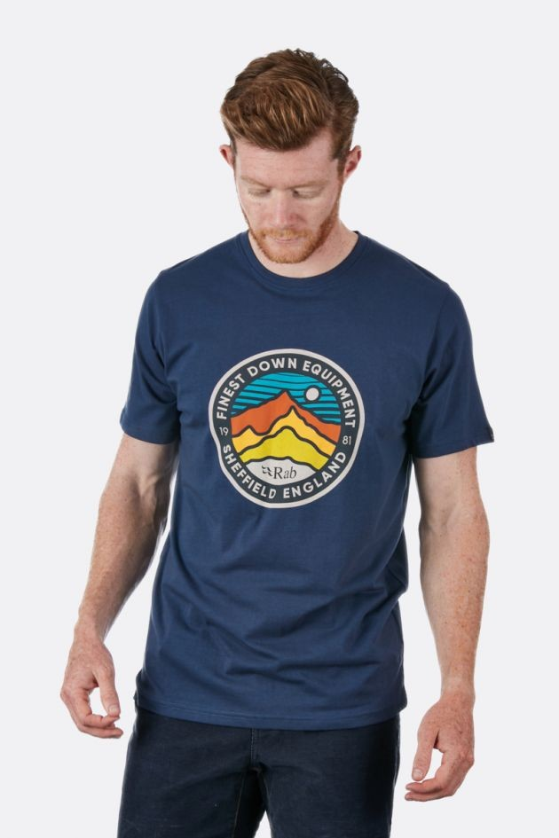 Rab Stance 3 Peaks SS Tee - T-shirt - Men's