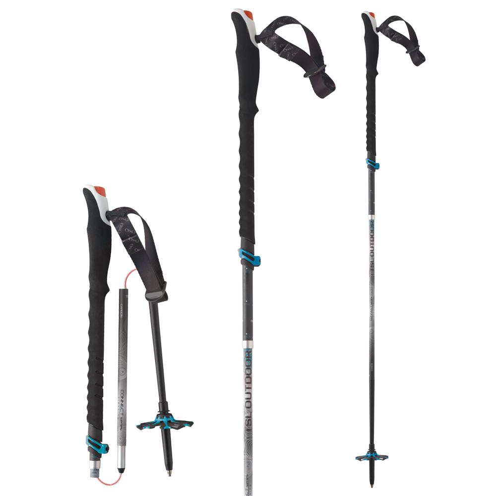 TSL Outdoor Connect Alu 5 Cross Push & Pull - Walking Poles