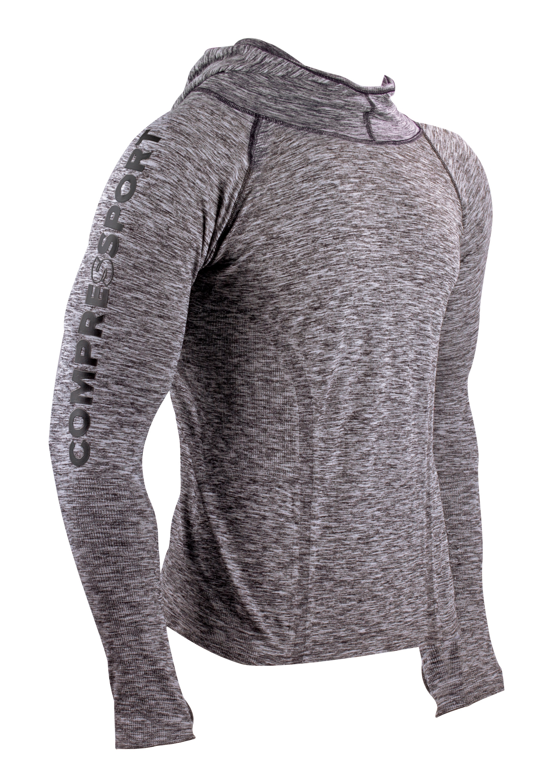Compressport - 3D Thermo Seamless Hoodie - Base layer - Men's