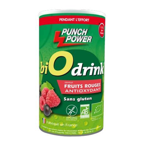 Punch Power - BiOdrink Antioxydant Fruits rouges sans gluten - Energy drink
