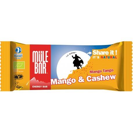Mulebar - Barre énergétique Mango Tango Bio