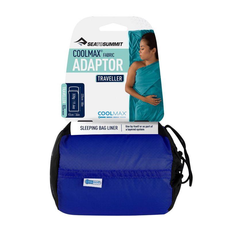 Sea To Summit - Coolmax Adaptor Traveller - Sleeping Bag Liner