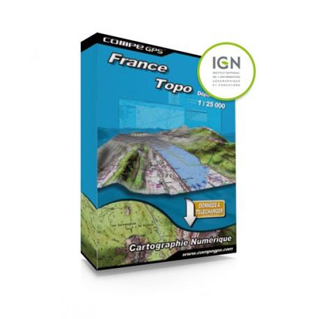 Twonav - Carte France zone 1:25000