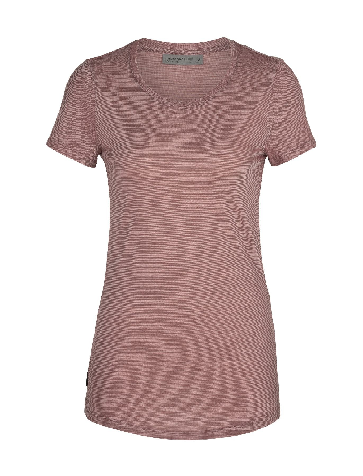 Icebreaker Cool-Lite Sphere Short Sleeve Low Crewe - T-shirt - Women's