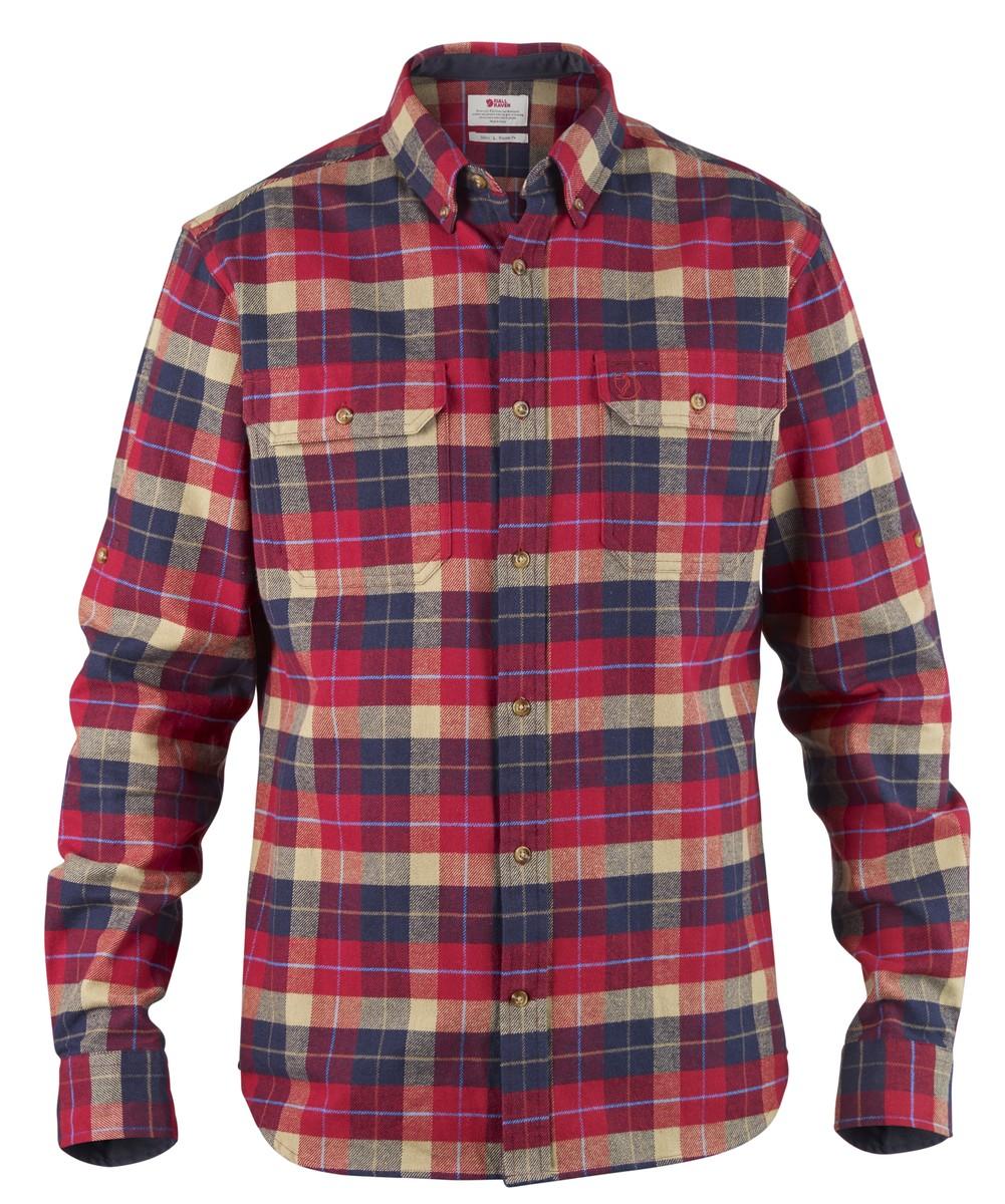 Fjällräven - Singi Heavy Flannel Shirt - Shirt - Men's