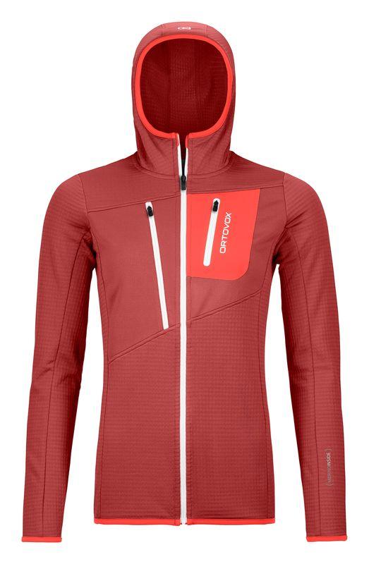 Ortovox Fleece Grid Hoody - Fleece jacket - Women's