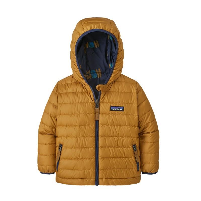 Patagonia Baby Reversible Down Sweater Hoody - Down jacket - Kids