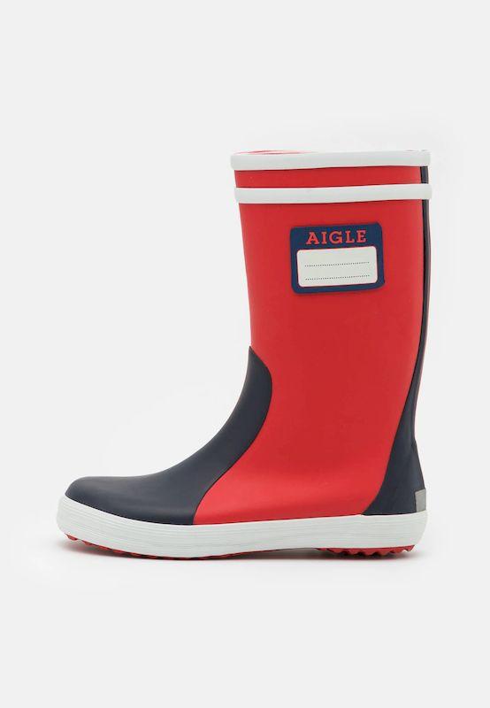 Aigle Lolly Pop Label - Wellington boots - Kids