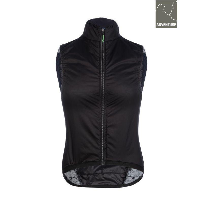 Q36.5 Adventure Women's Insulation Vest Black - Cycling vest - Women's