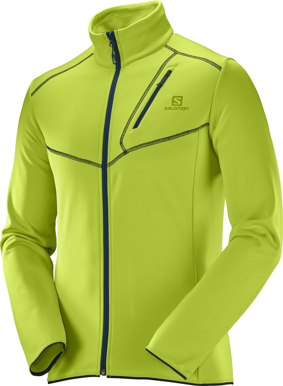 Salomon - Discovery FZ - Fleece jacket - Men's - 2017
