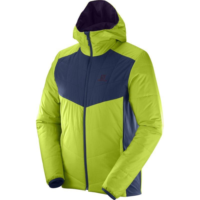 Salomon - Drifter Mid Hoodie M - Softshell jacket - Men's