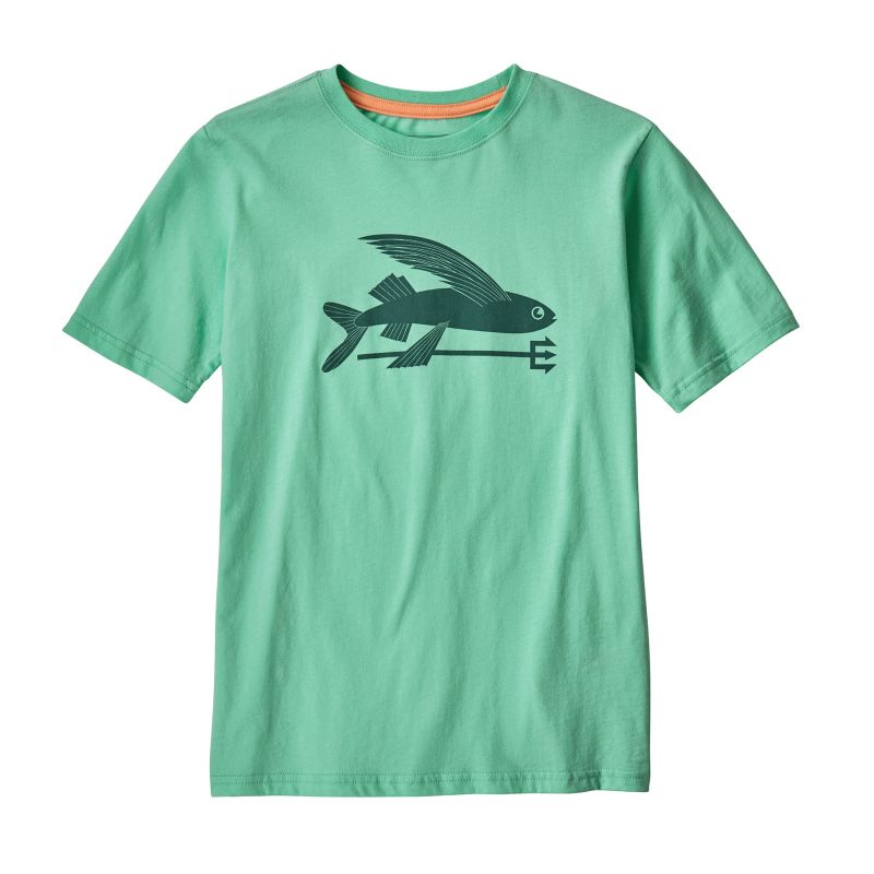 Patagonia Boy's Flying Fish Organic - T-shirt - Kids