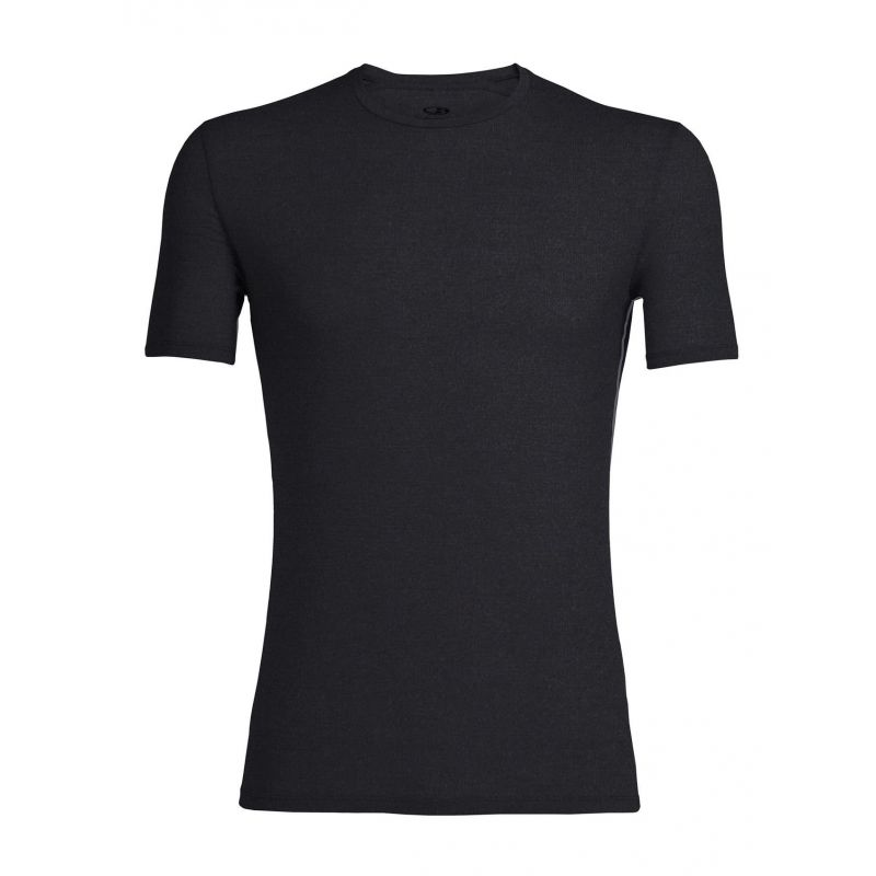 Icebreaker - Anatomica Short Sleeve Crewe en Mérinos - T-Shirt - Men's