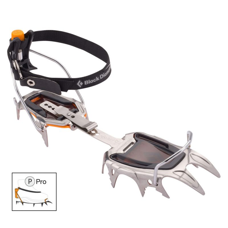 Black Diamond - Sabretooth Pro - Crampons