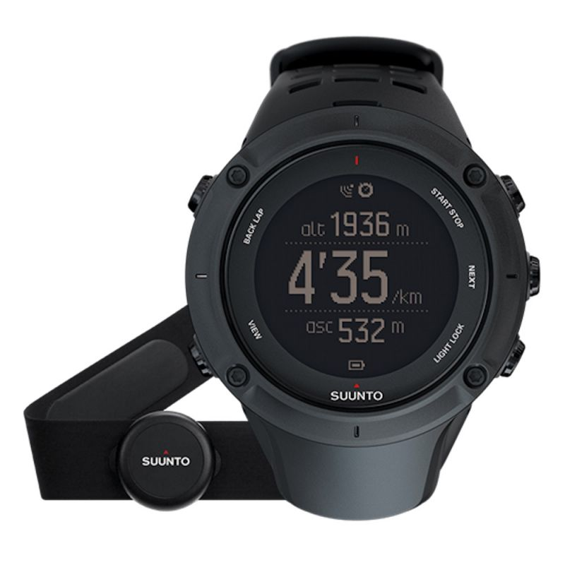 Suunto - Suunto Ambit 3 Peak Black (HR) - GPS Watch
