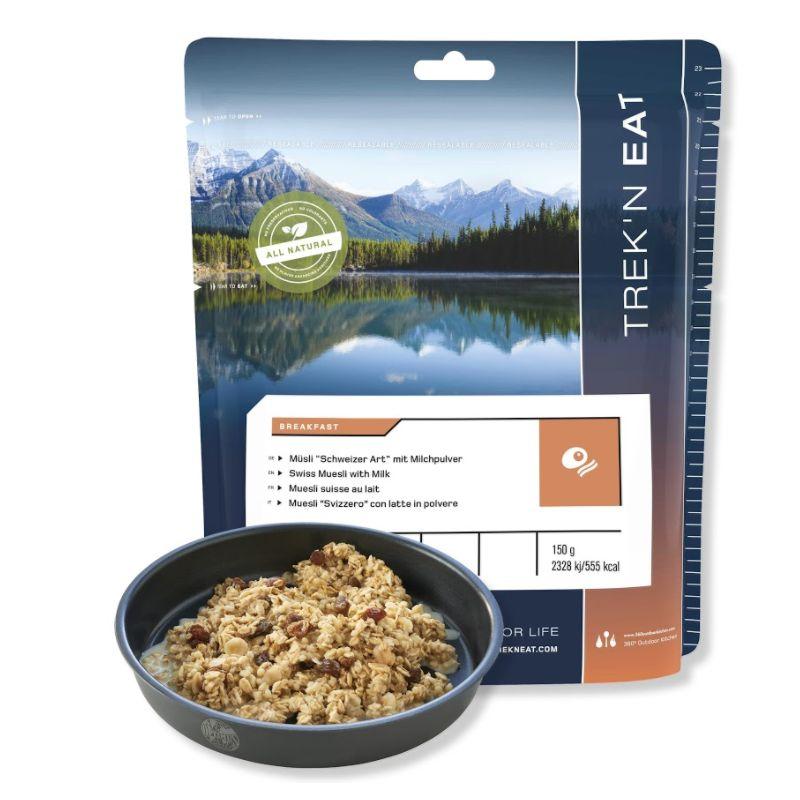 Trek'N Eat - Swiss Muesli with Milk - Dehydrated Meals
