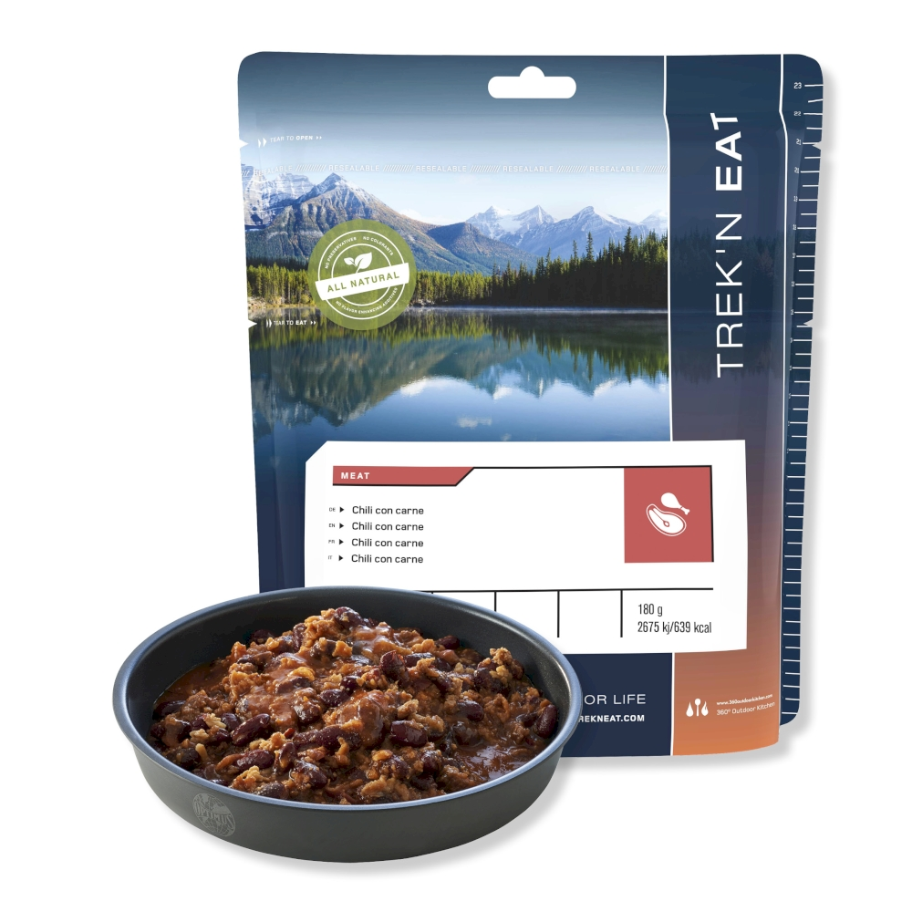 Trek'N Eat - Chili con carne - Dehydrated Meals