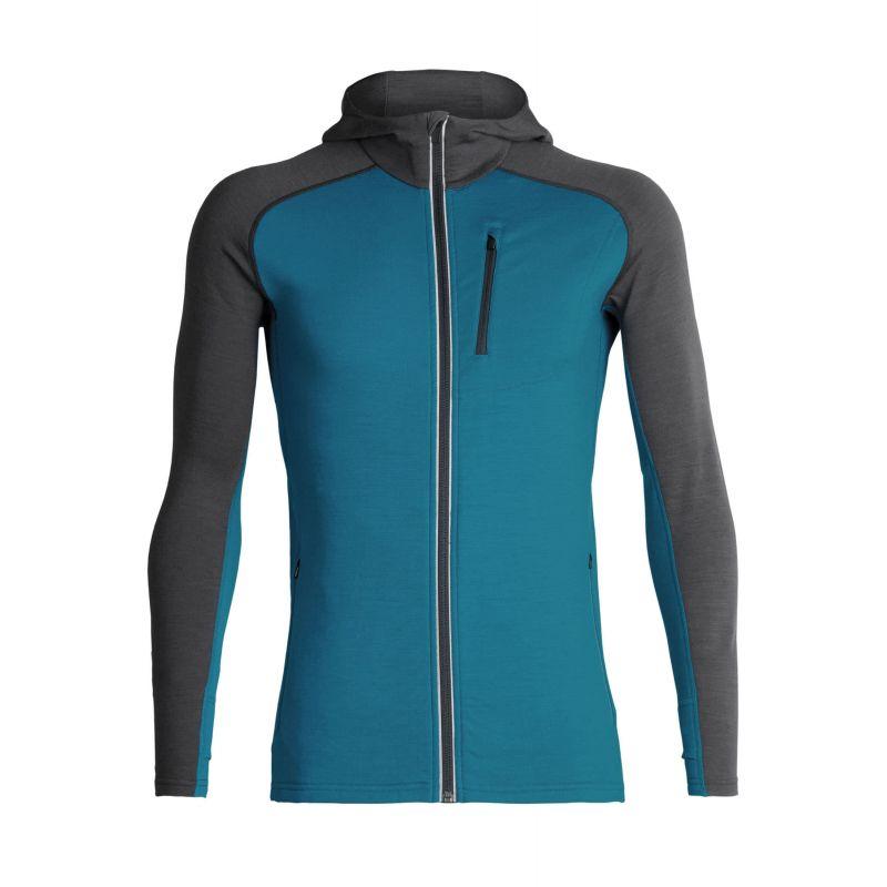 Icebreaker - Quantum Long Sleeve Zip Hood - Outdoor jacket - Men's