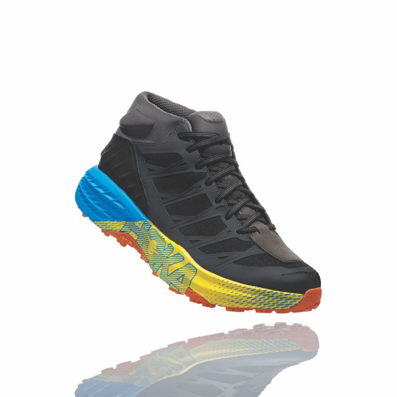 Hoka - Speedgoat Mid WP - Trail running shoes - Men's