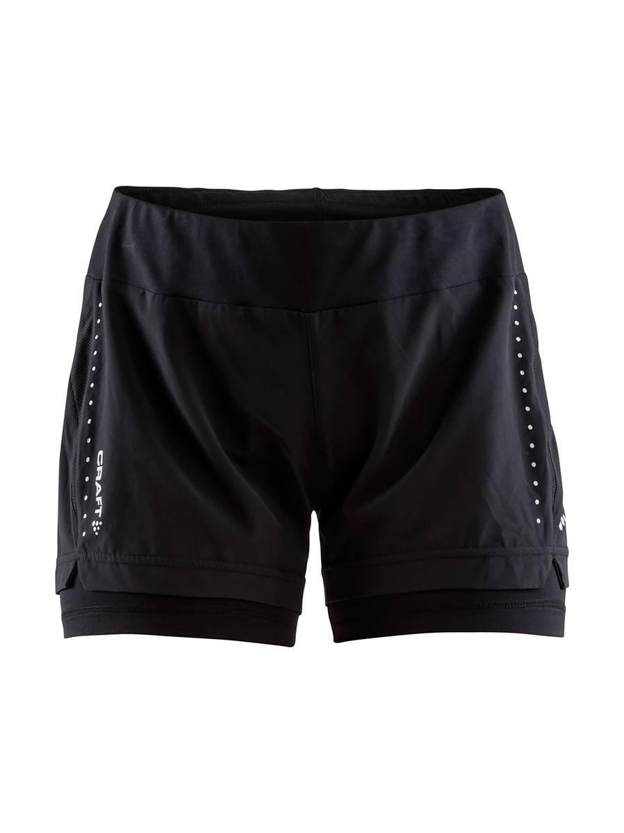 Craft Essential Short 2 En 1 - Running shorts - Women's