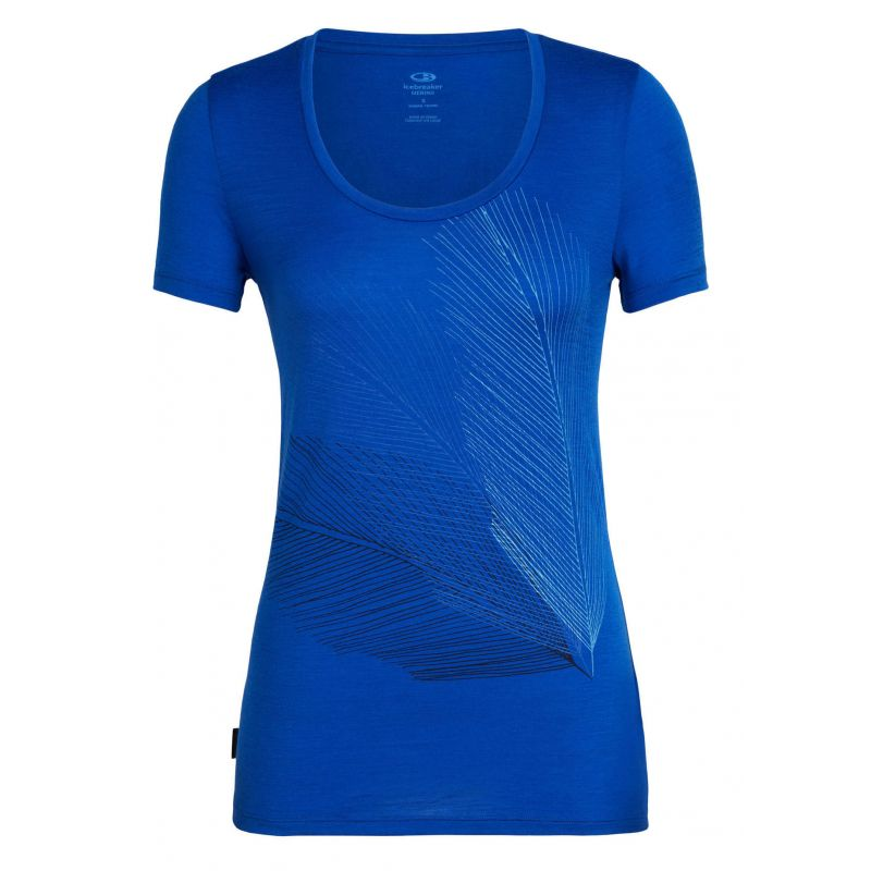 Icebreaker Tech Lite Short Sleeve Scoop Plume - T-shirt - Women's