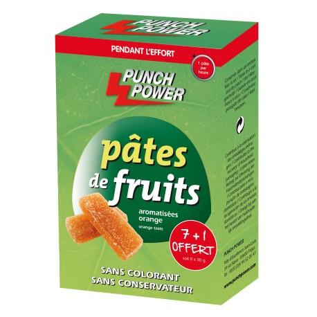 Punch Power - Pâtes de fruits orange (8 x 30 g)
