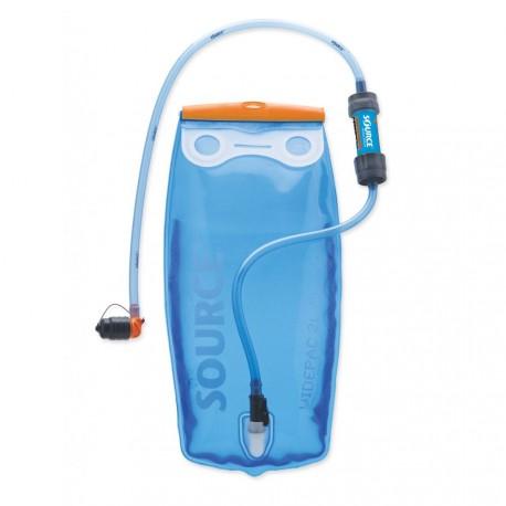 Source - Widepac 2 L + Sawyer filter - Hydratation system