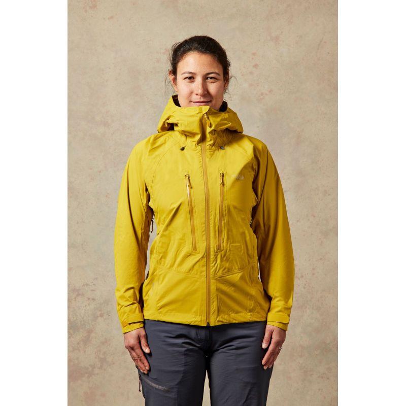 Rab Downpour Alpine Jacket - Hardshell jacket - Women's