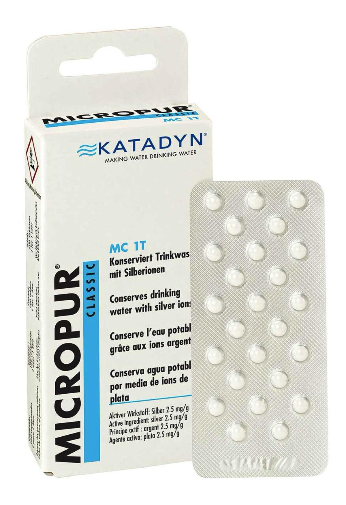 Katadyn - Micropur Classic MC 1T - Water purification