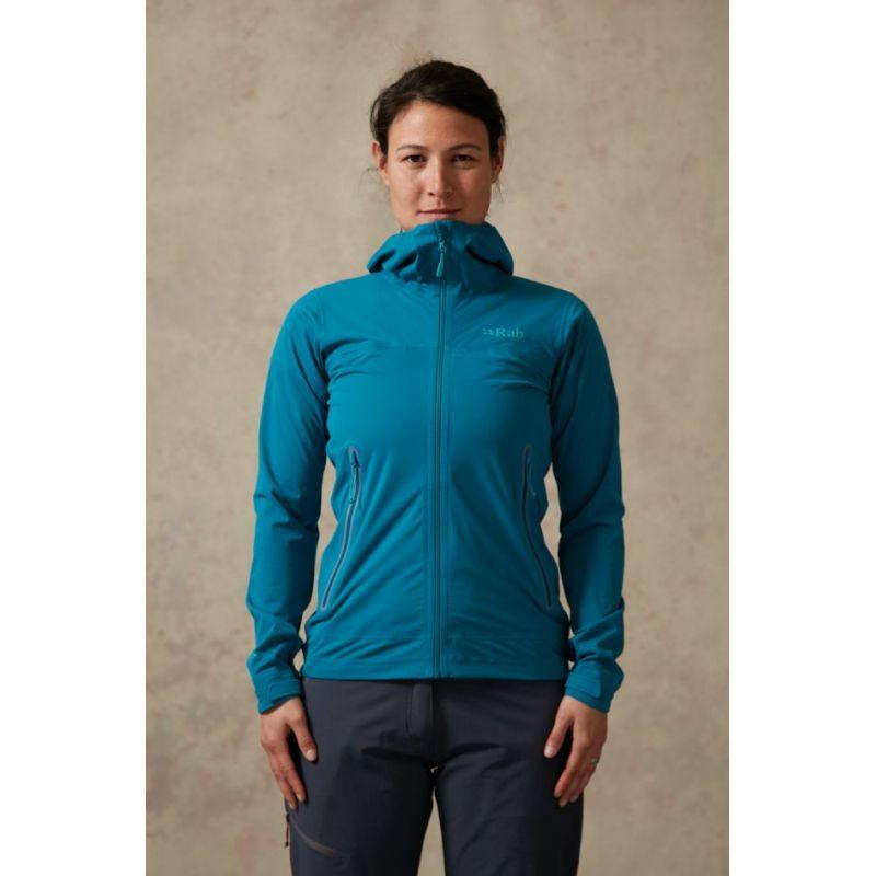 Rab Kinetic Plus Jacket - Hardshell jacket - Women's