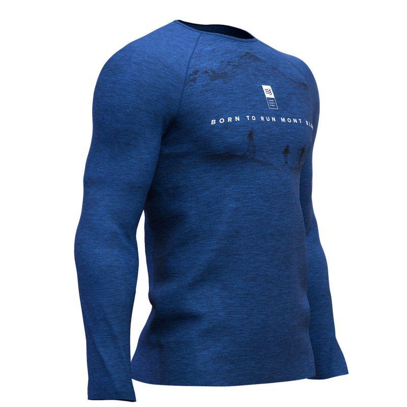 Compressport Training Tshirt LS - Mont Blanc 2019 - Base layer - Men's