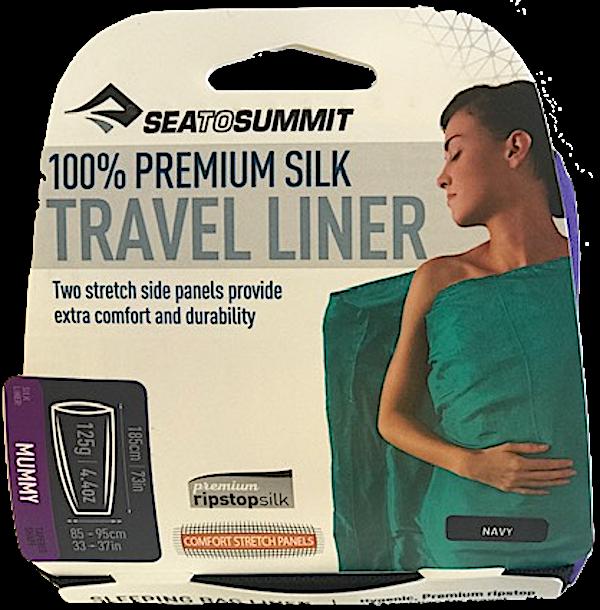 Sea To Summit - Travel Liner Silk Mummy - Sleeping Bag Liner