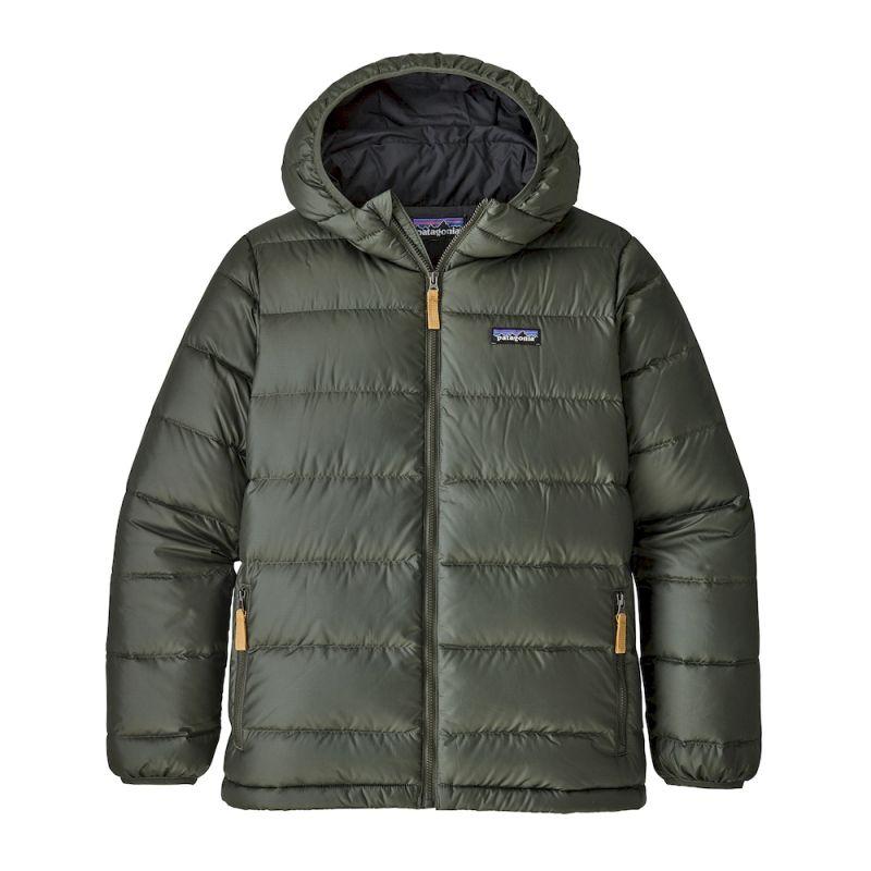 Patagonia - Boys' Hi-Loft Down Sweater Hoody - Down jacket - Boys